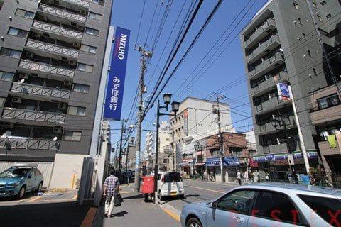 千駄木駅付近
