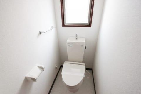 トイレに窓有