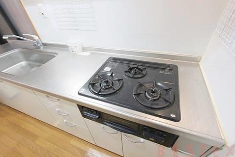 ガス3口システムキッチン
