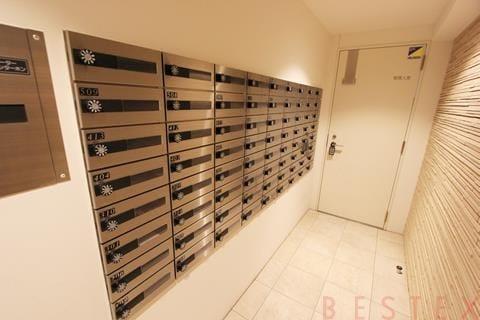 ダイヤル錠付メールボックス