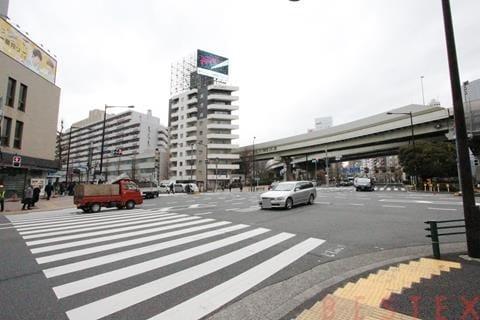 江戸川橋交差点