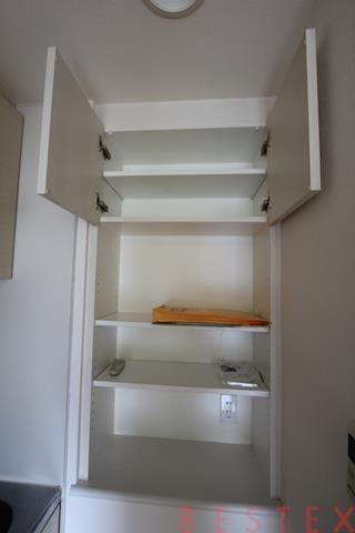 キッチン横棚