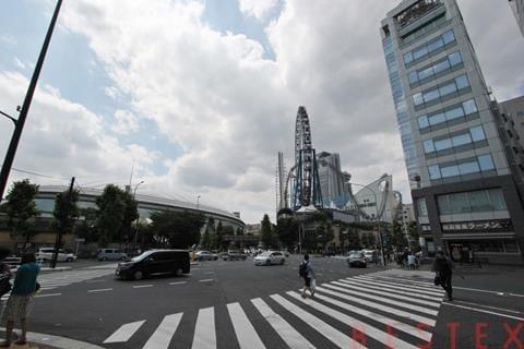 東京ドーム目の前