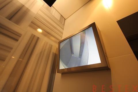 エレベーターモニタ