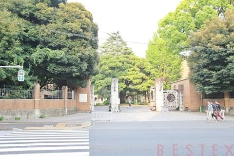 東京大学農正門