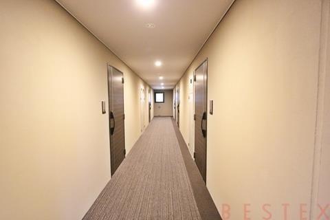 絨毯敷内廊下