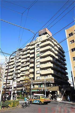 朝日白山マンション 8階
