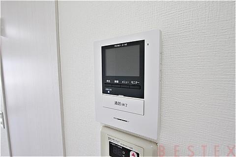 TVモニター付インターホン完備