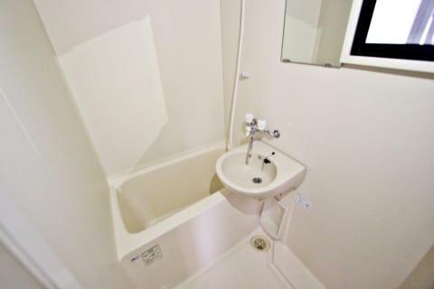 バスルームに窓有