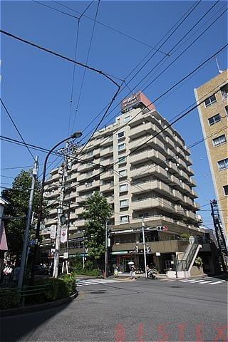 朝日白山マンション 4階