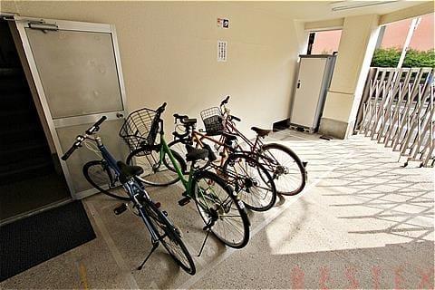 駐輪、バイク、駐車場