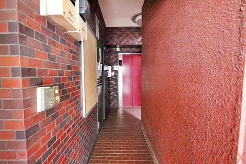 壁も床もレンガ調タイル張り