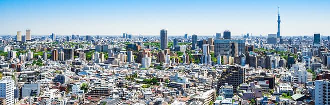 文京区の街並み